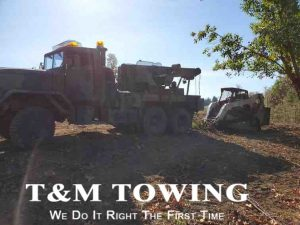 Springfield Heavy Towing with Bobcat in Tow