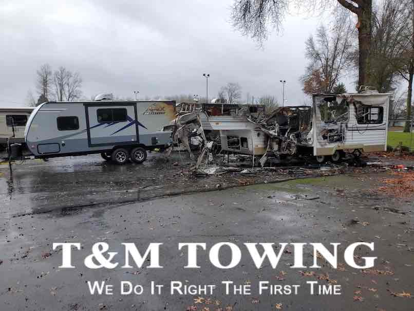 The after math prior camper towing